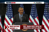 Pres. Obama rallies for immigration plan