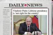 Vladimir Putin: I won't be president forever