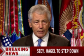 Chuck Hagel to step down as Defense Secretary