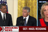 Mitchell: 'Hagel never really proved himself'