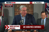 Gov. Nixon calls for tolerance and restraint