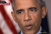 Obama urges peaceful protests