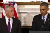 Hagel's departure and national security