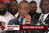 Sharpton addresses news conference disrupters