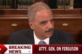 Eric Holder updates on Ferguson investigation