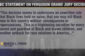 Politicians react to Ferguson decision