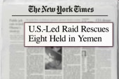 Special forces rescue eight in Yemen