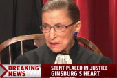 Justice Ginsburg underwent heart surgery