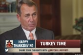 Boehner shares Thanksgiving recipe