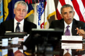 Who will fill Chuck Hagel's shoes?