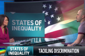 Top states for LGBT inequality might...