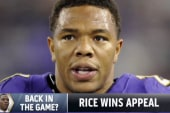 Back in the game? Ray Rice wins appeal