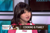 Young chef on getting kids interested in food