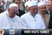 Pope makes rare visit to Turkey