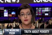 Member of US working poor speaks out