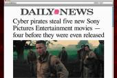Cyber pirates leak unreleased films online
