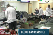 FDA reconsiders ban on gay men donating blood