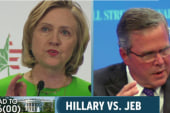 Clinton, Bush lay 2016 groundwork