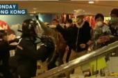 Hong Kong protest leaders surrender