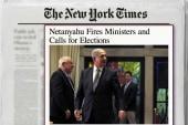 Netanyahu fires ministers, wants elections