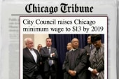 Debate heats up over Chicago's minimum wage
