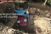 Inside the country's largest homeless camp