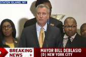 De Blasio: Policing problem 'personal' for me