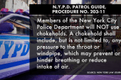 The law and the Eric Garner case