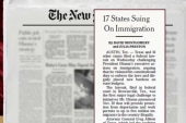 17 states suing over immigration