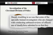 DOJ issues scathing report on Cleveland PD