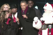 President Obama dances like a dad