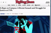 Rolling Stone under fire for UVA rape story