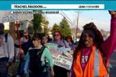 Civil rights marchers endure racist attacks