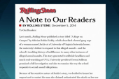 Rolling Stone UVA rape story questioned