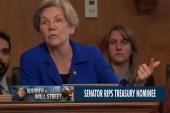 Elizabeth Warren rips Treasury nominee