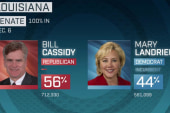Mary Landrieu loses bid for reelection