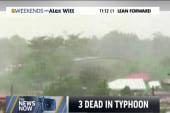 Deadly Typhoon weakens in Philippines