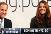Prince William, Kate take on New York
