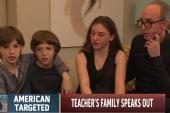 Murdered US teacher's family speaks out
