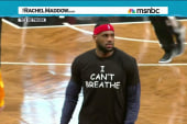 Is LeBron too big for the right to pick on?