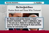 ACLU: Pardon Bush officials for torture