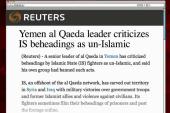 al-Qaeda leader: ISIS beheadings un-Islamic