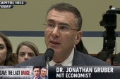 Gruber grilled by House Oversight Committee