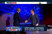Pres. Obama takes over 'The Colbert Report'