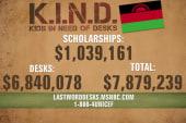 Over $1 million raised for Malawian girls