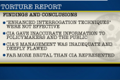 CIA pushes back on torture report
