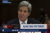 Kerry requests 'blank check' for war on ISIS