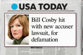 Cosby hit with defamation lawsuit