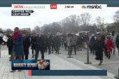 Minority congressional staffers stage walkout