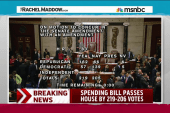 Controversial spending bill passes House